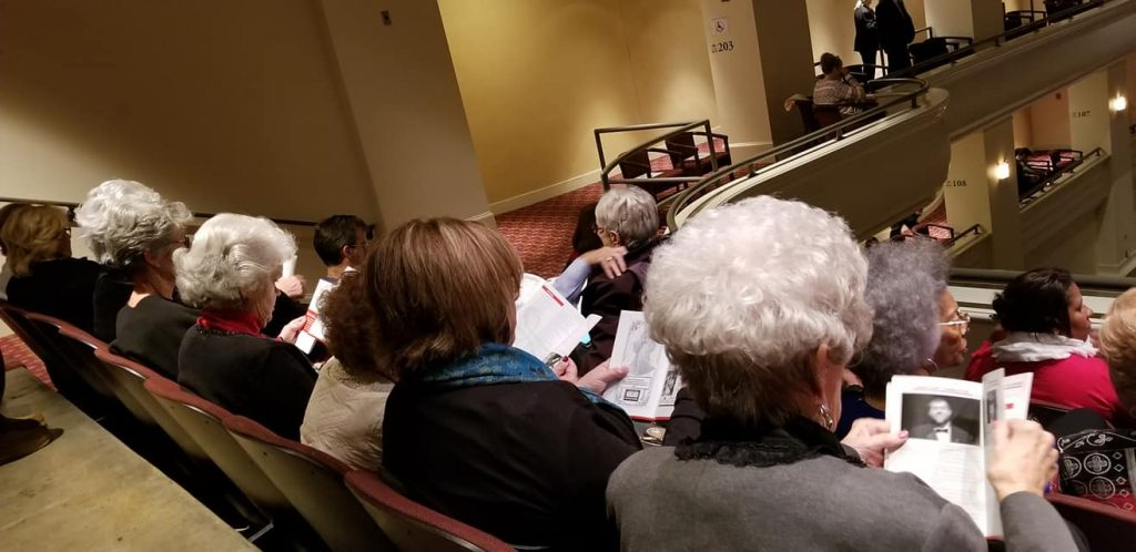 Athens Christmas Concert with Seniors at Cottages of Monroe