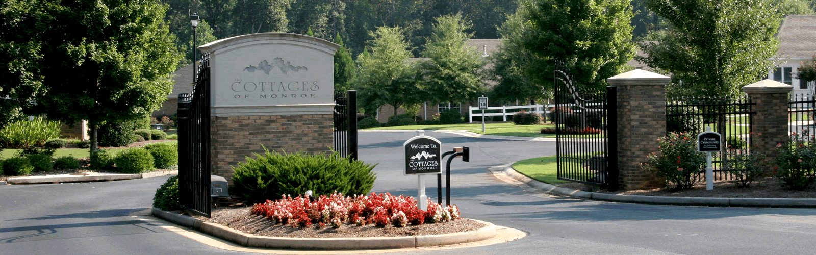 Cottages of Monroe Front Gate