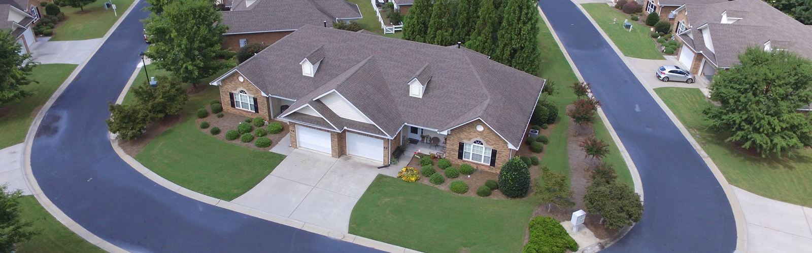 Cottages of Monroe Arial View
